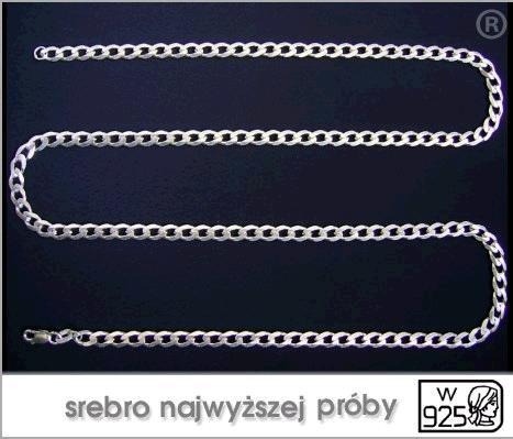 sprzedam srebrne łańcuszki