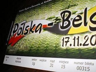 Bilety na mecz Polska-Belgia