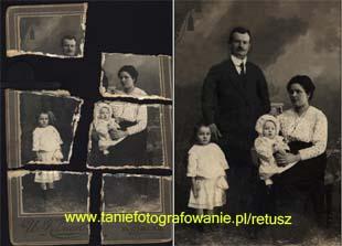 Profesjonalna renowacja starych zdjęć